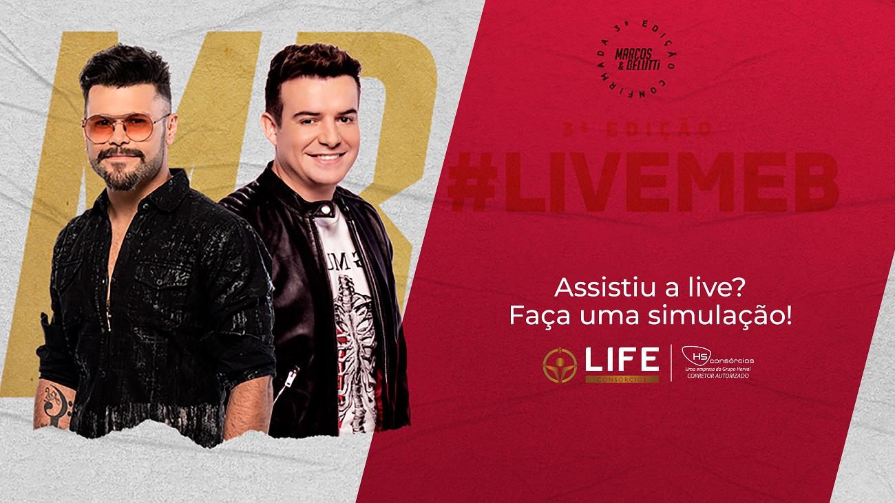 LIVE DUPLA MARCOS E BELUTTI - Patrocínio oficial: HS Consórcios