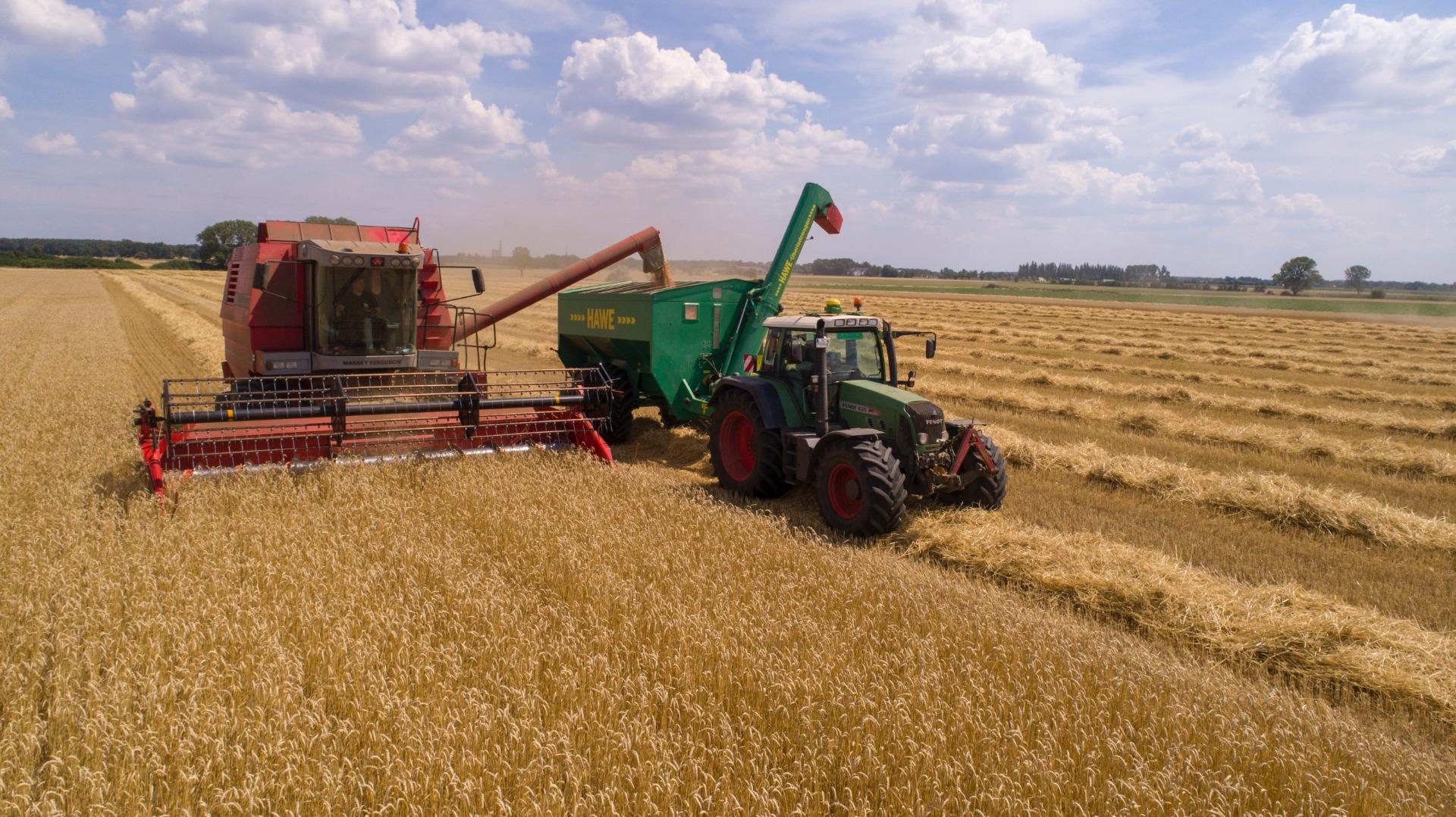 Consórcio de Máquinas Agrícolas no Sul