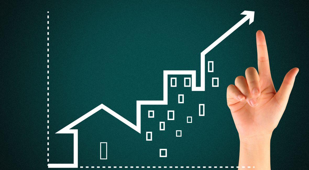 O mercado imobiliário está em ascensão!